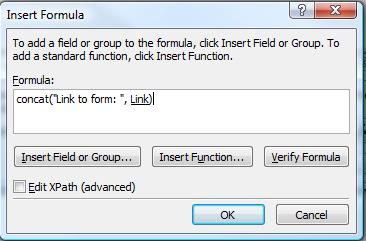 Expression box formula
