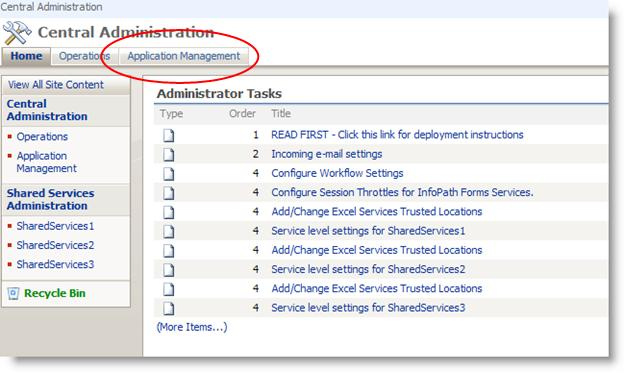 Administrator – Approved Form Templates - Janice's SharePoint Blog