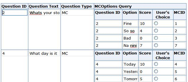 filed under  infopath forms services   multiple choice