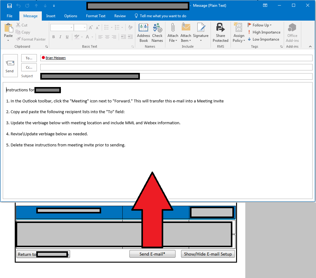 outlook 2013 email templates