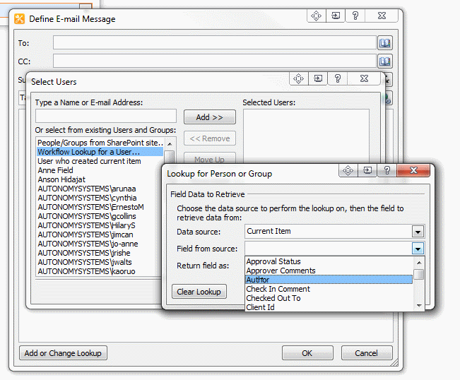 create a workflow in sharepoint designer to send an email to the email address located in the form - InfoPath Dev