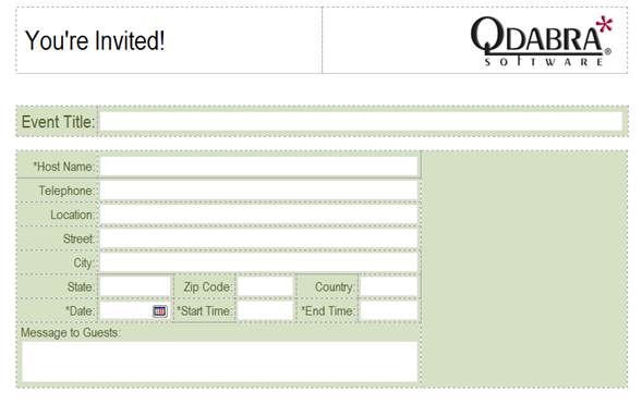 3 click file save and give your form template a for Free infopath templates
